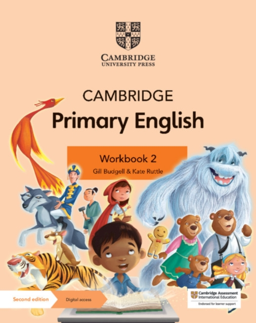 Cambridge Primary English Workbook 2 with Digital Access (1 Year)