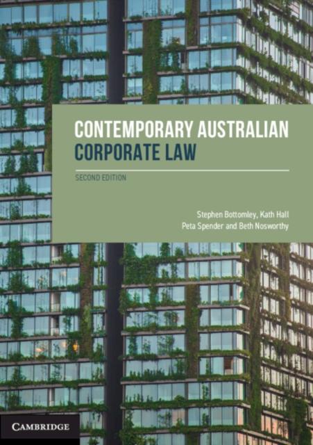 Contemporary Australian Corporate Law