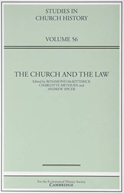 Church and the Law: Volume 56