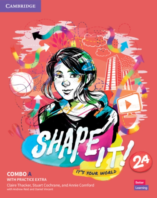 Shape It! Level 2 Combo A Student's Book and Workbook with Practice Extra