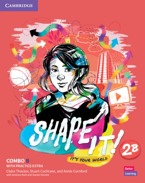 Shape It! Level 2 Combo B Student's Book and Workbook with Practice Extra
