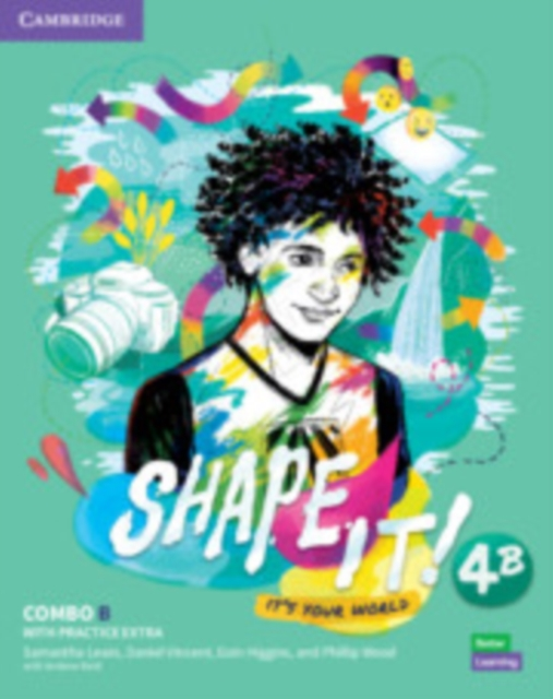 Shape It! Level 4 Combo B Student's Book and Workbook with Practice Extra