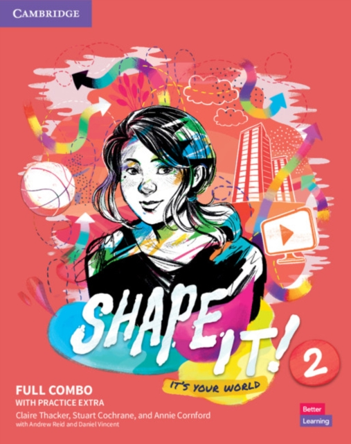 Shape It! Level 2 Full Combo Student's Book and Workbook with Practice Extra