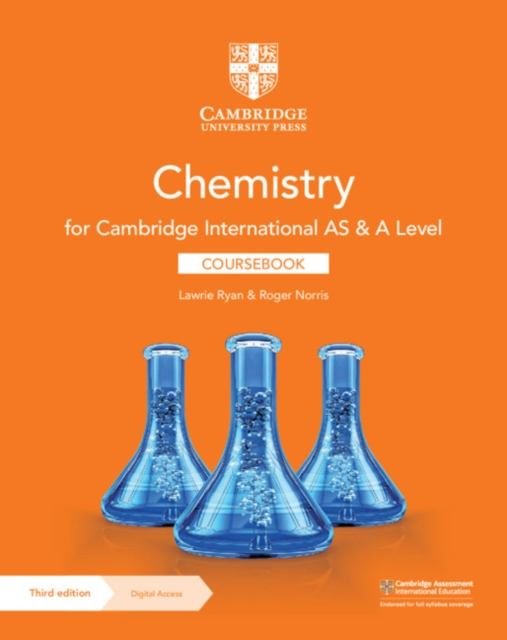 Cambridge International AS & A Level Chemistry Coursebook with Digital Access (2 Years)