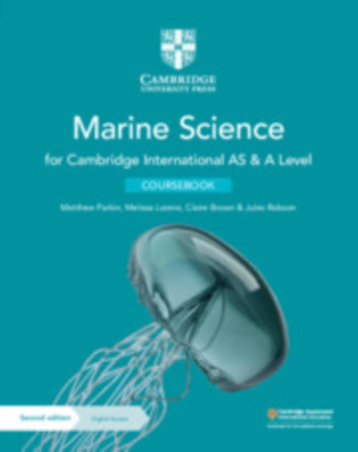 Cambridge International AS & A Level Marine Science Coursebook with Digital Access (2 Years)
