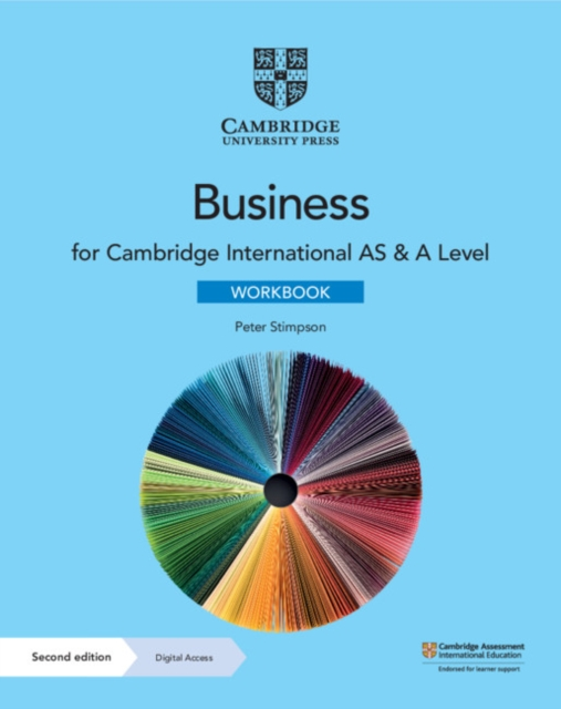 Cambridge International AS & A Level Business Workbook with Digital Access (2 Years)