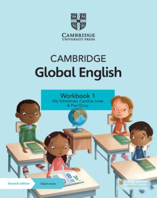 Cambridge Global English Workbook 1 with Digital Access (1 Year)