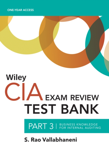 Wiley CIAexcel Test Bank 2019
