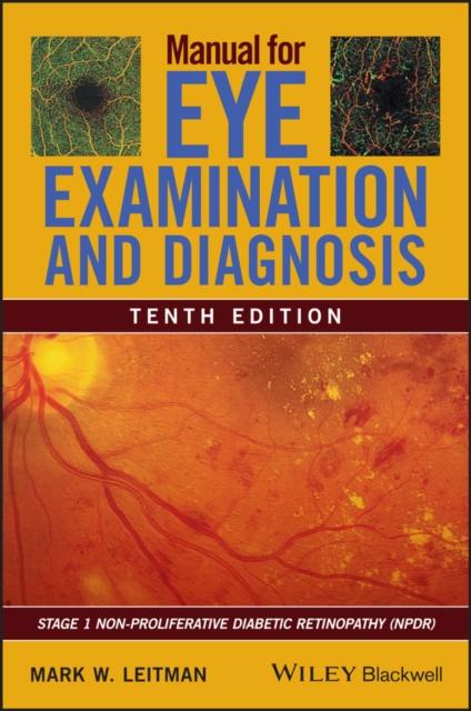 Manual for Eye Examination and Diagnosis
