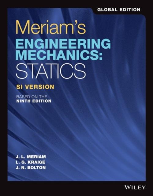 Meriam's Engineering Mechanics