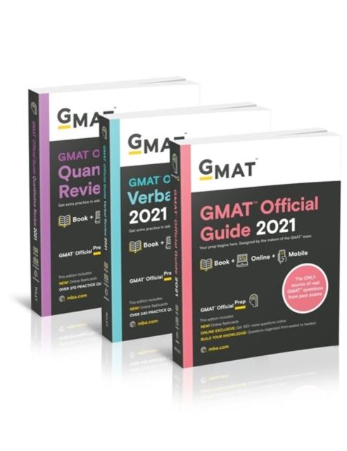 GMAT Official Guide 2021 Bundle