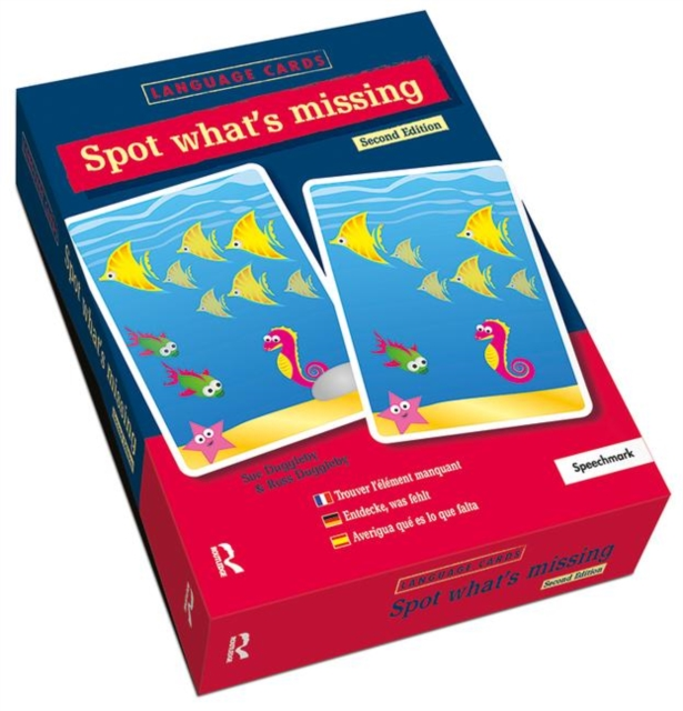 Spot What's Missing? Language Cards