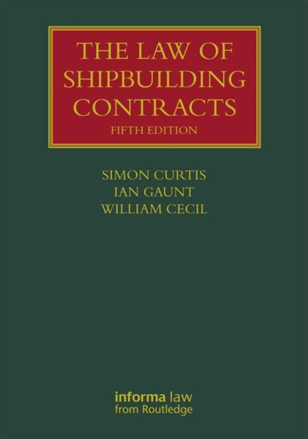 Law of Shipbuilding Contracts