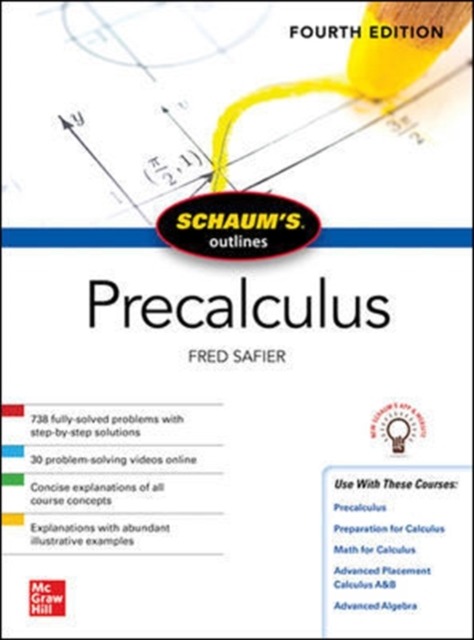 Schaum's Outline of Precalculus, Fourth Edition