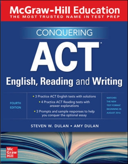 McGraw-Hill Education Conquering ACT English, Reading and Writing, Fourth Edition