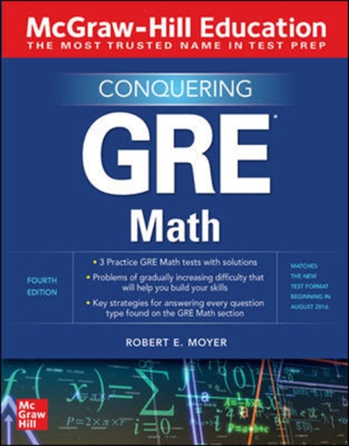 McGraw-Hill Education Conquering GRE Math, Fourth Edition