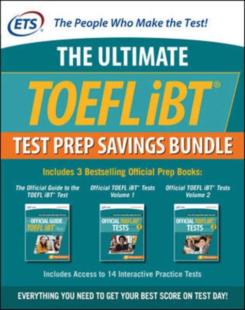 Official TOEFL Tests Savings Bundle, Second Edition