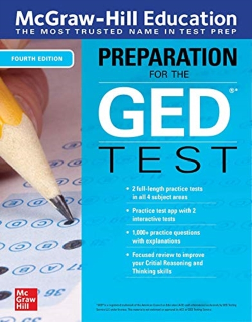 McGraw-Hill Education Preparation for the GED Test, Fourth Edition