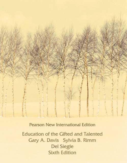 Education of the Gifted and Talented: Pearson New International Edition