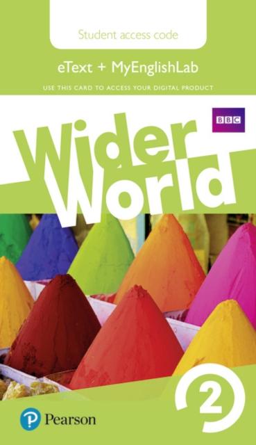 Wider World 2 MyEnglishLab & eBook Students' Access Card