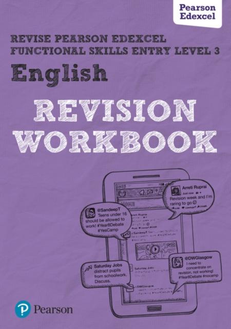 Revise Edexcel Functional Skills English Entry Level 3 Workbook