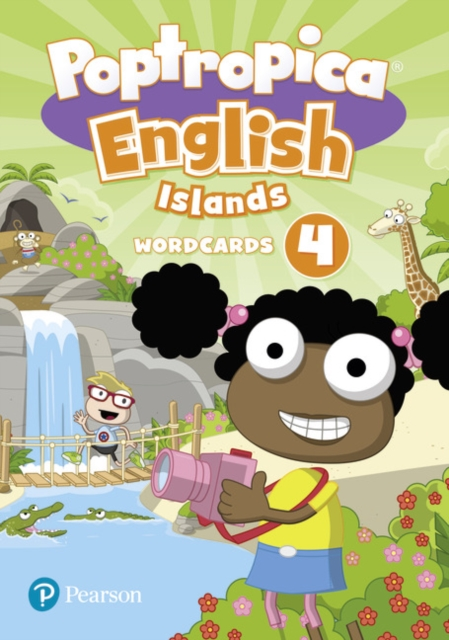 Poptropica English Islands Level 4 Wordcards