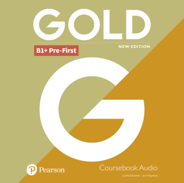 Gold B1+ Pre-First New Edition Class CD