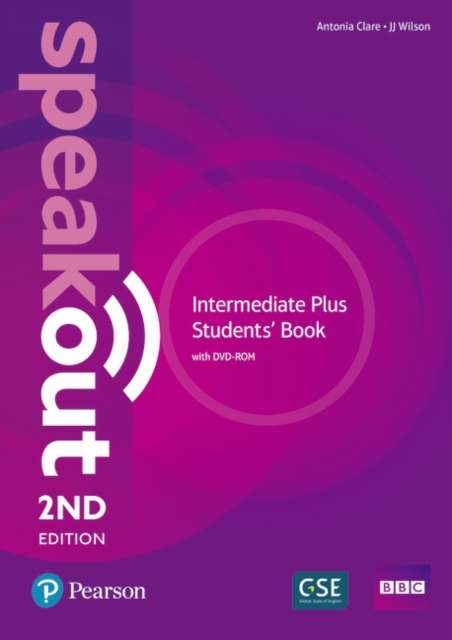 Speakout Intermediate Plus 2nd Edition Student's Book with DVD-ROM and MyEnglishLab Pack
