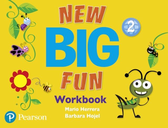 Big Fun Refresh Level 2 Workbook and Workbook Audio CD pack