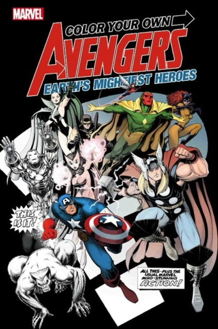 Color Your Own Avengers 2