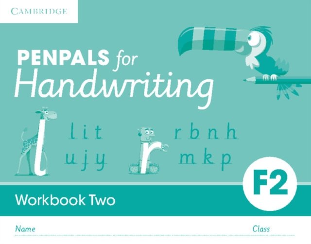 Penpals for Handwriting Foundation 2 Workbook Two (Pack of 10)