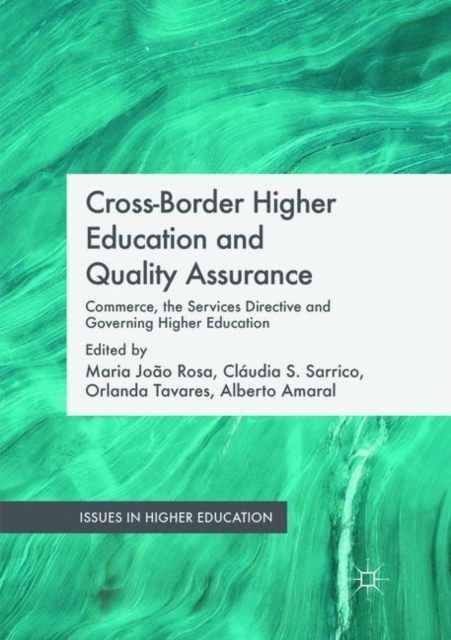 Cross-Border Higher Education and Quality Assurance