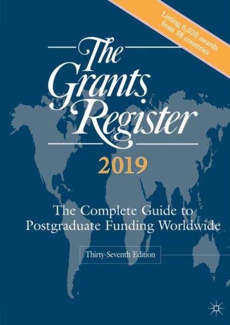 Grants Register 2019
