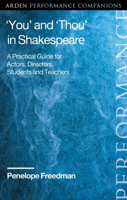 'You' and 'Thou' in Shakespeare