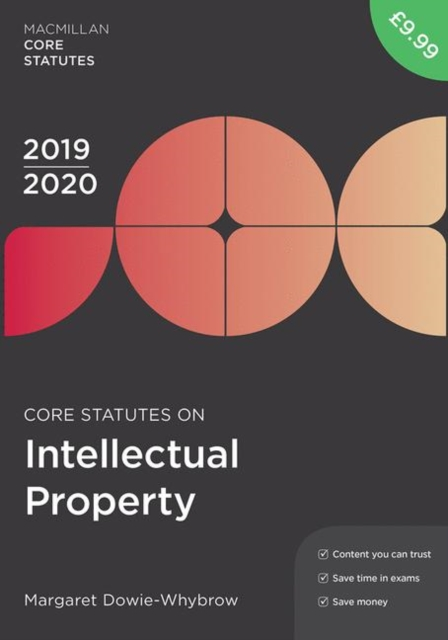 Core Statutes on Intellectual Property 2019-20