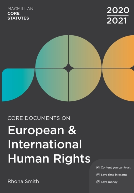 Core Documents on European and International Human Rights 2020-21