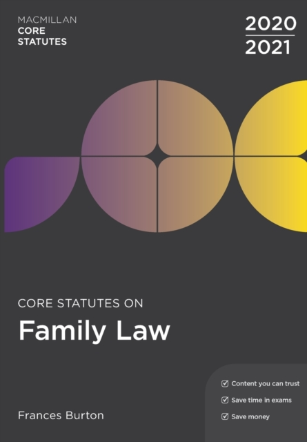 Core Statutes on Family Law 2020-21