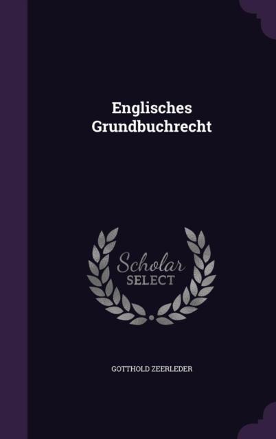 Englisches Grundbuchrecht