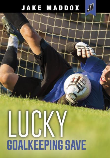 Lucky Goalkeeping Save