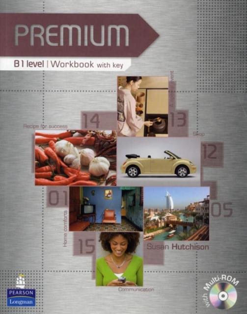 Premium B1 Level Workbook with key/CD-Rom Pack