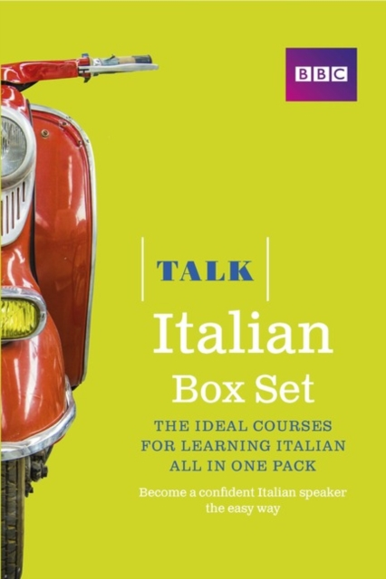 Talk Italian Box Set (Book/CD Pack)