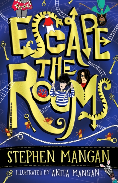 Escape the Rooms (the laugh-out-loud funny and mind-blowingly brilliant new book for kids!)