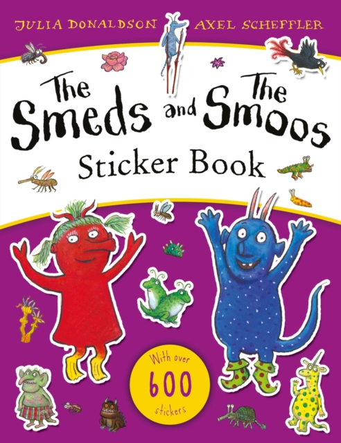 Smeds and the Smoos Sticker Book