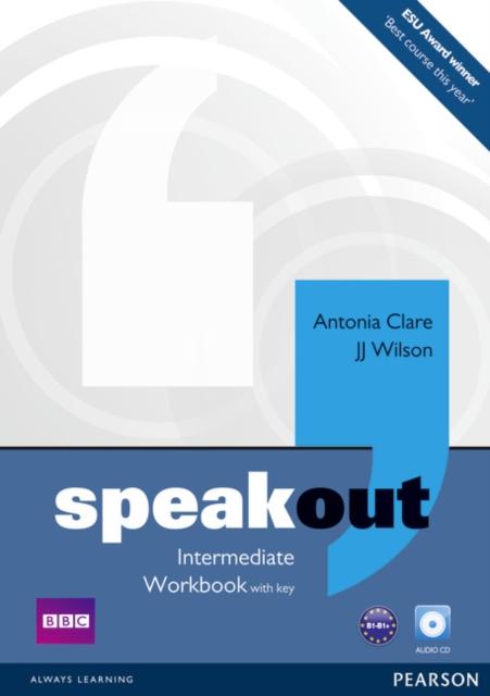 Speakout Intermediate Level Workbook with Key+CD