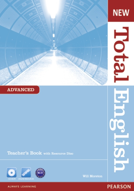 New Total English Advanced Level Teacher's Book and CD Pack