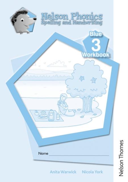 Nelson Phonics Spelling and Handwriting Blue Workbooks 3 (10)