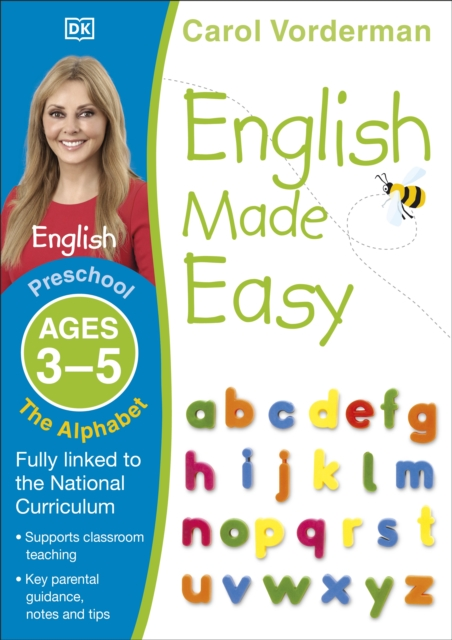English Made Easy: The Alphabet, Ages 3-5 (Preschool)