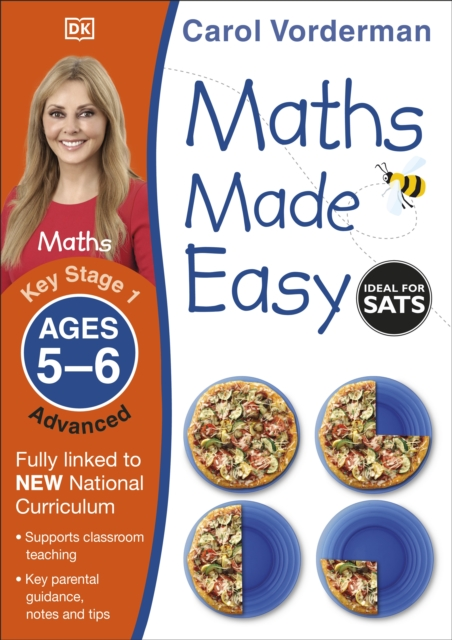 Maths Made Easy: Advanced, Ages 5-6 (Key Stage 1)