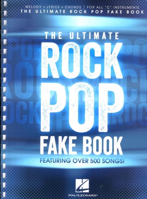 Ultimate Rock Pop Fake Book
