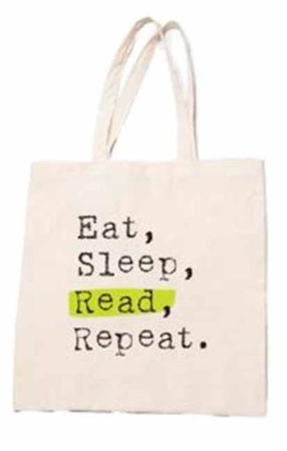 Eat, Sleep, Read, Repeat Tote